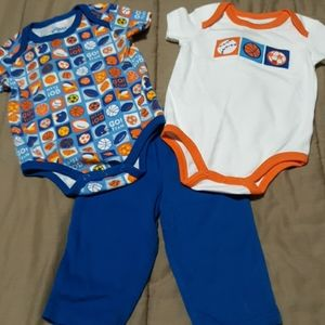 3 piece sports outfit